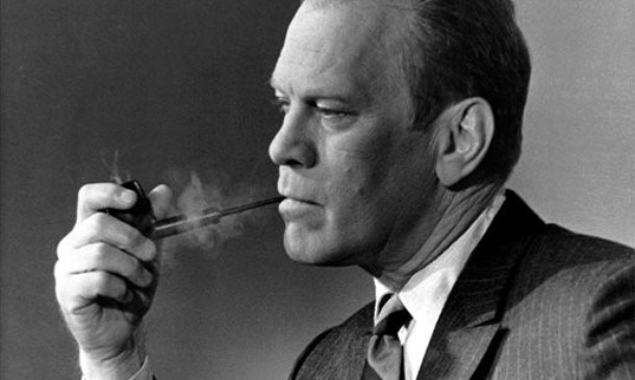 Gerald R. Ford – A president with a pipe